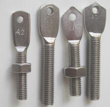 Irregular flat head with hole bolts