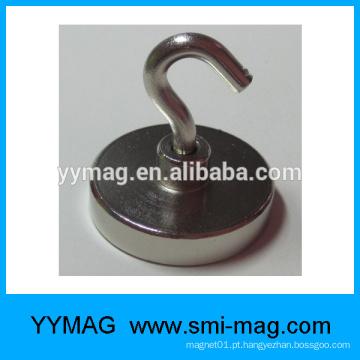 Ganchos magnéticos de neodímio pesados
