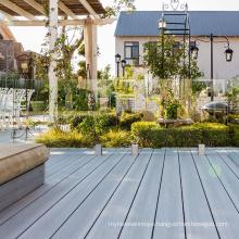 Wood plastic composite decorative floor WPC coextrusion swimming pool low carbon floor