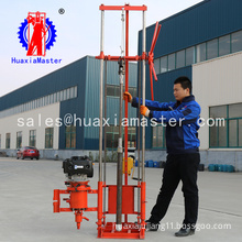 Lightweight exploration drill rig QZ-2CS/winches type drilling equipment small rock core sampling drilling machine