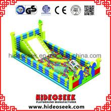 Indoor-aufblasbare riesige Ball Pit für Kinder