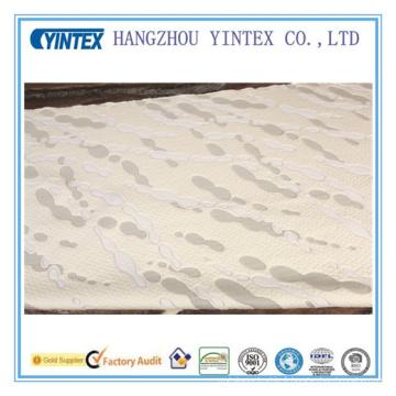 Tissu de polyester de formes de prop d'eau pour la couche de matelas