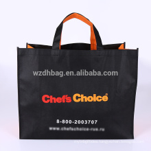 2018 custom wholesale reusable non woven promotional tote bag for shopping, gift, supermarket