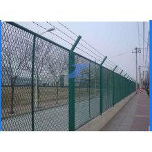 Площадка Металлическим Забором