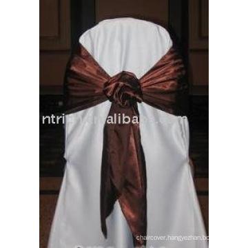 normal satin sash,polyester sash,chair sash