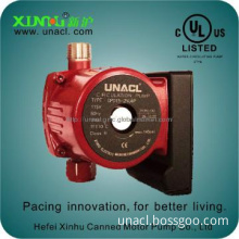 Hot water circulating pump small