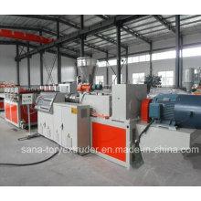 Machines en plastique d'extrudeuse de feuille de Celuke de croûte en plastique de PVC WPC