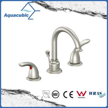 Widespread Zinc Alloy Dual Lever 3 Hole Basin Faucet (AF8300-6C)