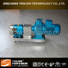 Positive Displacement Pump Lq3a Stainless Steel Rotor Pump
