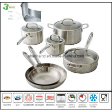 All-Clad Stainless Steel Cookware Set