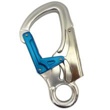 A722 Crochet de sécurité en aluminium à double action