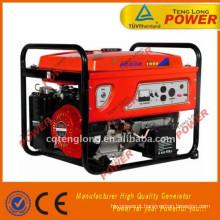 venda quente 2500w AVR gasolina combustível o gerador portátil