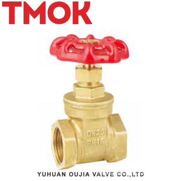 brass internal thread wheel handle brass stop valve