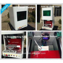 Máquina de marcado láser de metal Syngood con diseño de mesa / portátil / mango