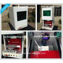 Металлическая лазерная маркировочная машина Syngood с настольным / переносным / ручным дизайном