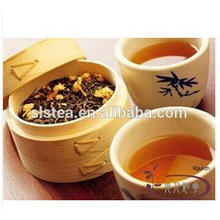 Flavor Jasmine flower green tea with EU standard