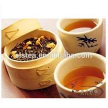 Chá verde da flor do jasmim do sabor com padrão da UE
