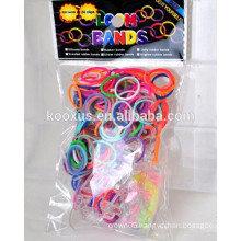 Colorful loom rubber bands made in China
