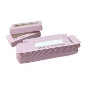 Custom Beauty Pink Eyelash Box with Window