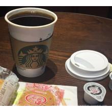 Маленькие, средние и большие индивидуальные чашки кофе