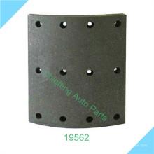 fabricante de forro de freno 19562 19563 2725232 2727460 para material de forro de freno Volo