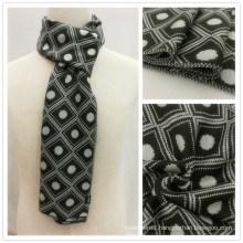 Mens Classic Gentlemen Knitted Winter Diamond Printing Scarf (SK812)