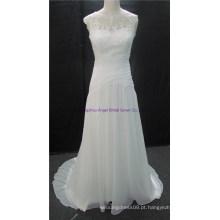 Senhora graciosa barato a linha vestido de casamento vestido de noiva