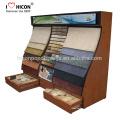 Alfombra de tela Alfombra de la tienda Pantalla de exhibición incluyendo la especificación del material a la impresión gráfica de encargo