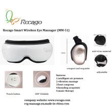 Massageador de olho sem fio dobrável inteligente com função de música