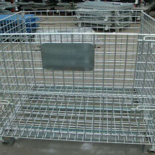 Steel Wire Pallet Cage For Warehouse Storage