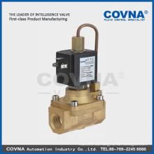 Diafragma piloto accionado 2/2 normal cierre alta presión válvula solenoide aire agua aceite latón 1/2 pulgada solenoide válvula