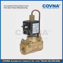 diaphragm pilot operated 2/2 normal close high pressure solenoid valve air water oil brass 1/2 inch solenoid valve