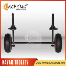 Steel kayak cart