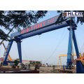120t+120t-50.5m/24m Goliath Gantry Crane for Shipyard