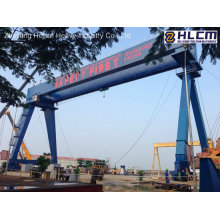 120t+120t-50.5m/24m Goliath Gantry Crane for Shipyard