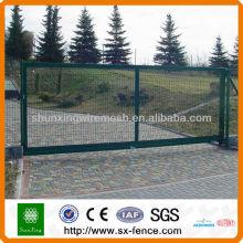 Дизайн решетки для железных ворот с порошковым покрытием, дизайн решетки для дверей