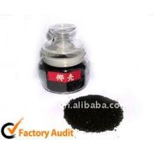 Cáscara de coco carbonizada Carbón activado