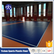 Good rebound removable volleyball floor mat