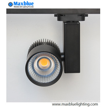 20W / 30W / 45W blanco plata negro CREE COB LED pista de iluminación (MB-TL01-30W)