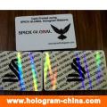 Transparente Sicherheit Hologramm ID Overlay