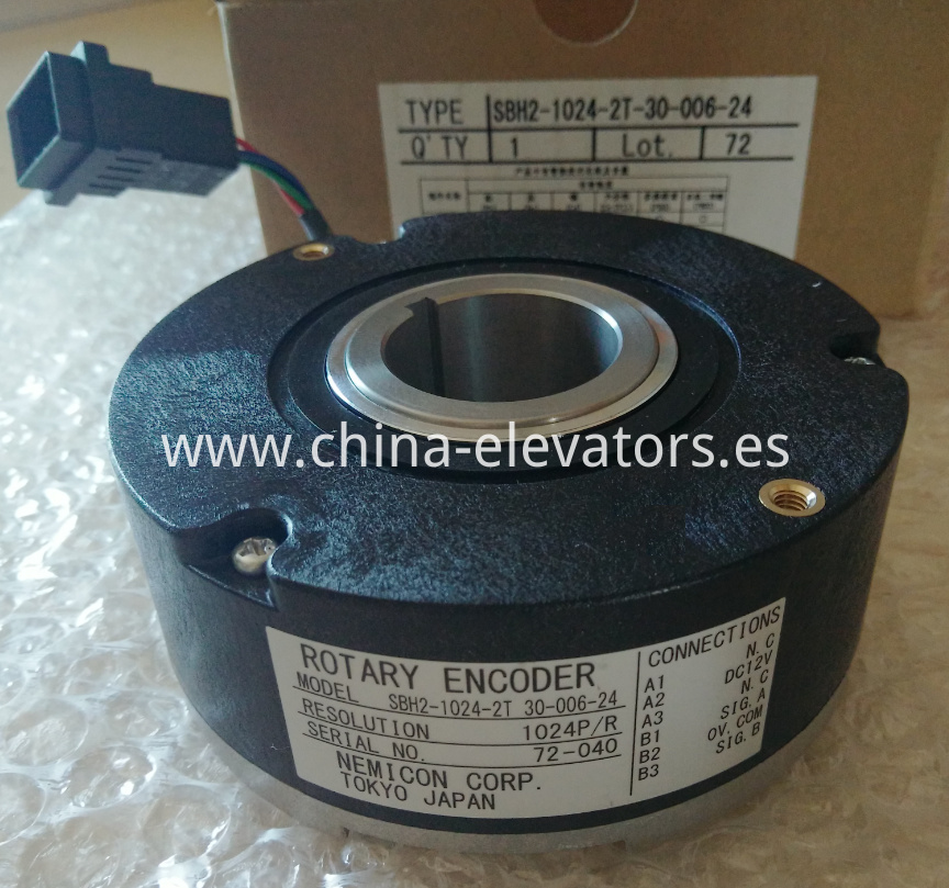 NEMICON ROTARY ENCODER for Fujitec Elevators
