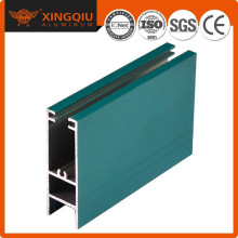 Perfil de aluminio 6063 t5, proveedor de extrusión de aluminio hueco