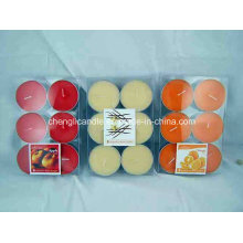 High Quality Color and Scented Tea Light Candles From China