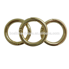 Made In China Spring Ring Gold Plated Metal O Ring
