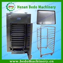 China fez máquina de secagem de aço inoxidável / forno de ar quente máquina de secagem para o cogumelo, cebola, gengibre, alho 008613253417552