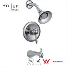 Haijun útil y duradera cUpc solo mango montado en la pared grifo de la ducha
