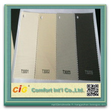 30% Polyester 70% PVC Roller Blinds Protecteur solaire Tissu écran Roller Tissu aveugle