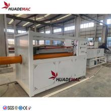 Línea de máquina extrusora de plástico de tubería de PVC