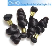 Pas cher 38 pouces cheveux brésiliens vierges gros cheveux armure stock, qingdao kingwell cheveux, 10 pouces cheveux brésiliens en vrac
