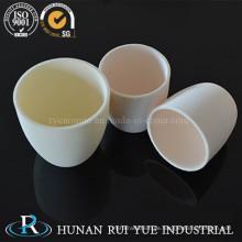 Keramiktiegel Al203 99 % Kohlenstoff und Schwefel-Analysator